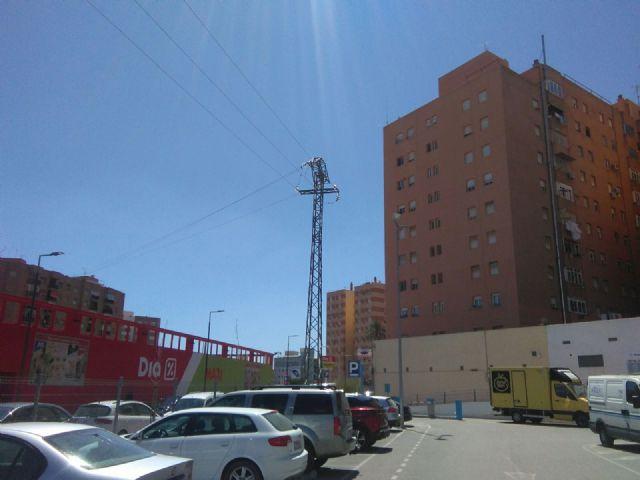 El PSOE pide el soterramiento de la línea de alta tensión que existe frente a la estación de autobuses de Lorca - 2, Foto 2