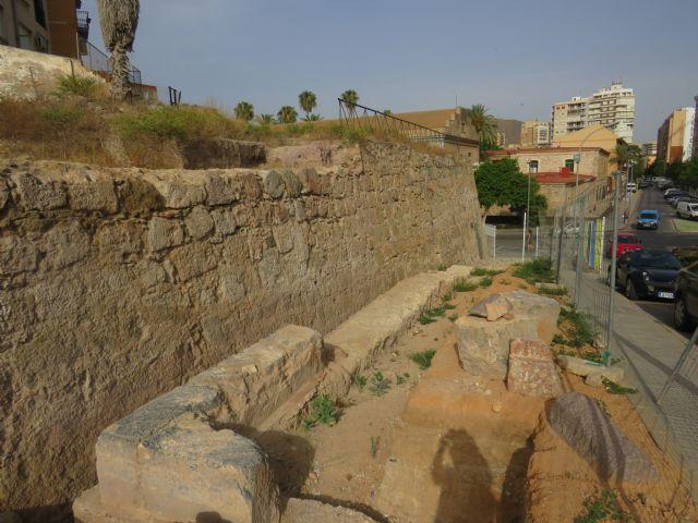 Ciudadanos pide al Ayuntamiento que ponga en valor los restos de la Muralla de Felipe V que se hallaron en 2015 - 1, Foto 1