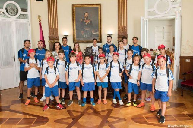 Jóvenes cartageneros jugarán en el Campeonato de Fútbol Base organizado por el Cartagena FC en su centenario - 1, Foto 1