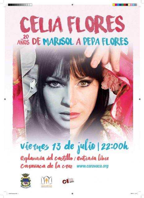 Celia Flores ofrece en Caravaca el concierto homenaje a su madre, '20 años de Marisol a Pepa Flores' - 1, Foto 1
