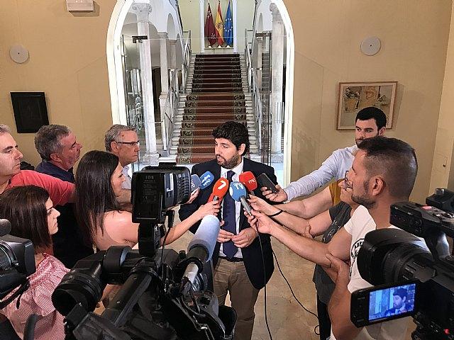 López Miras: Los empleados públicos de la Administración regional cobrarán la subida salarial del 1,75 por ciento este mes - 1, Foto 1