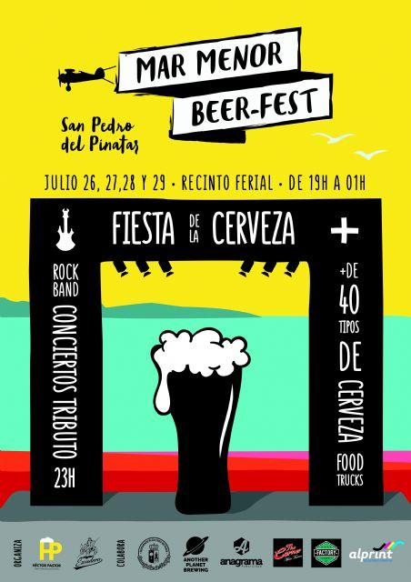 San Pedro del Pinatar acoge el festival de cerveza artesana 'Mar Menor Beer Fest' del 26 al 29 de julio - 1, Foto 1