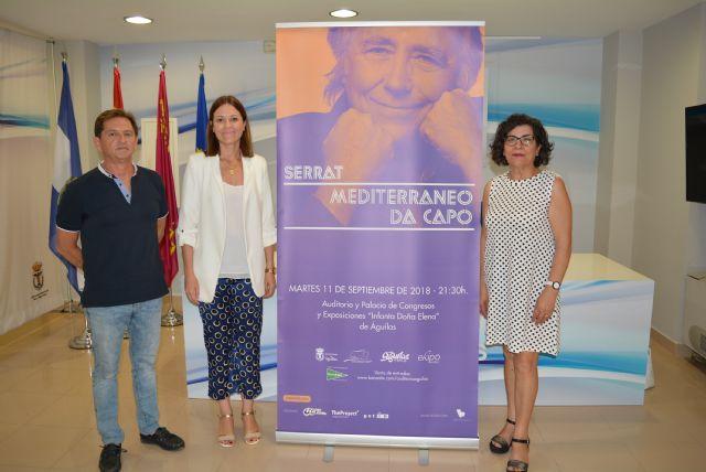 Serrat cerrará la gira europea de Mediterráneo da capo en el Auditorio de Águilas - 1, Foto 1