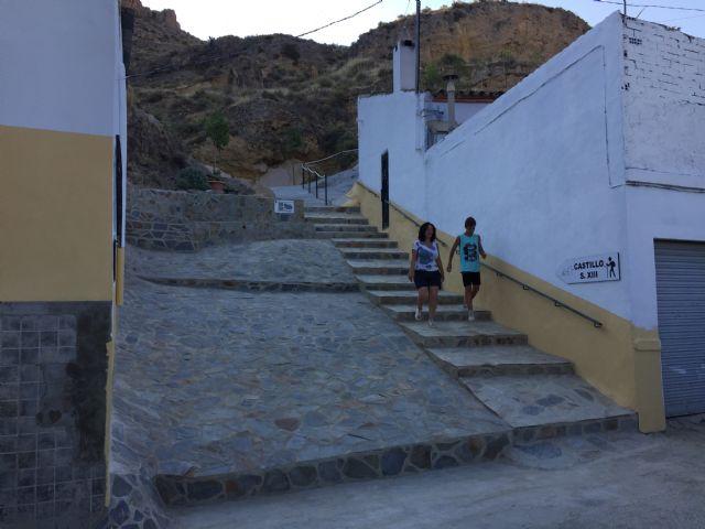 Finalizado nuevo sendero turístico que une la calle Cantarerías con el Subidor al Castillo - 1, Foto 1