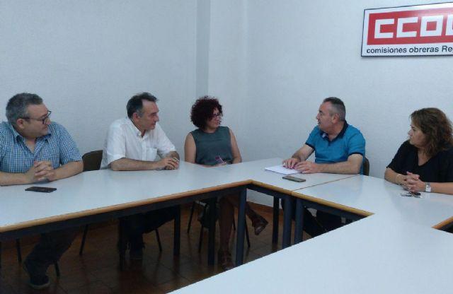 El PCE llama a defender el acuerdo para la subida de salarios e insta al Gobierno del PSOE a garantizarlo por ley, Foto 1