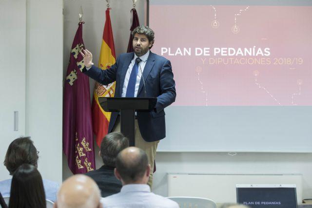 La Comunidad destina cuatro millones a mejorar infraestructuras en barrios y pedanías de Murcia, Cartagena, Lorca y Molina de Segura, Foto 1