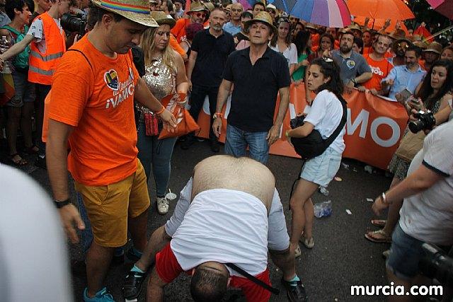 Ciudadanos pide a la Asamblea Regional una declaración de condena a la violencia sufrida durante las celebraciones del Orgullo LGTBI en Madrid, Foto 1