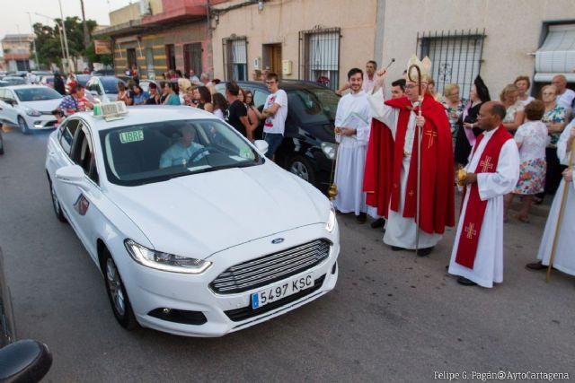 Más de un centenar de vehículos son bendecidos en el Día de San Cristóbal - 1, Foto 1