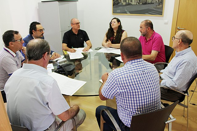 The Board of Spokesmen meets for the first time in this term of office to plan the celebration of the extraordinary plenary session for the configuration of the political and administrative structure, Foto 1