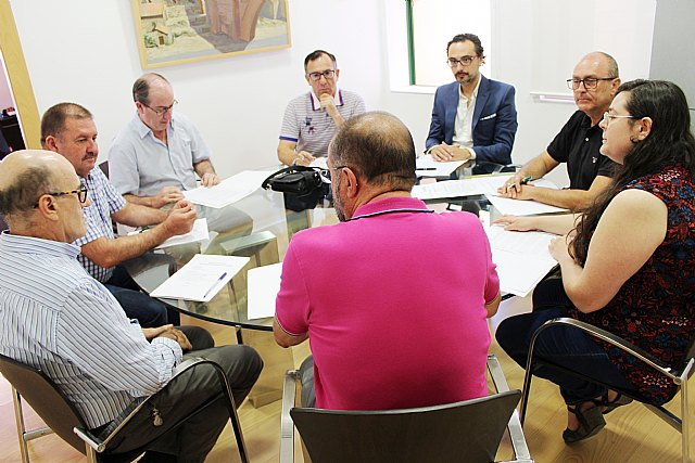 The Board of Spokesmen meets for the first time in this term of office to plan the celebration of the extraordinary plenary session for the configuration of the political and administrative structure, Foto 2