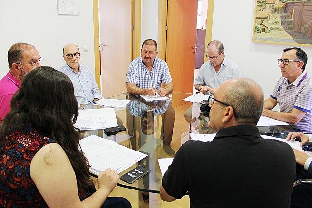 Se reúne, por vez primera en esta legislatura, la Junta de Portavoces con el fin de planificar la celebración del Pleno extraordinario de configuración de la estructura política y administrativa - 3, Foto 3