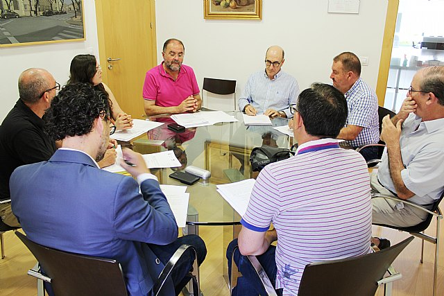The Board of Spokesmen meets for the first time in this term of office to plan the celebration of the extraordinary plenary session for the configuration of the political and administrative structure, Foto 4