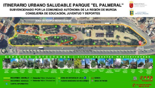 El Jardín de El Palmeral estrena un itinerario saludable de dos recorridos, Foto 2