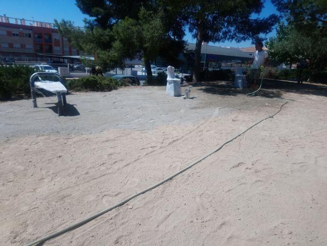 El Jardín de El Palmeral estrena un itinerario saludable de dos recorridos, Foto 3