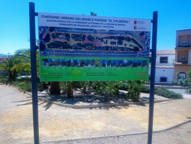 El Jardín de El Palmeral estrena un itinerario saludable de dos recorridos, Foto 4