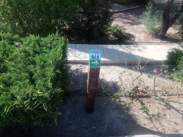 El Jardín de El Palmeral estrena un itinerario saludable de dos recorridos, Foto 5