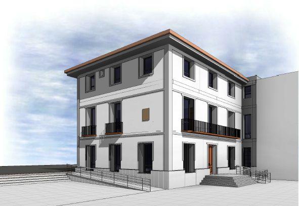 Restauración integral del edificio del Ayuntamiento de Blanca con el Plan de Obras y Servicios 2020/2021 - 1, Foto 1