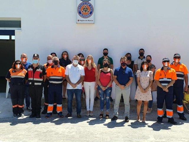 Inaugurada la nueva sede de Protección Civil de Alguazas - 1, Foto 1
