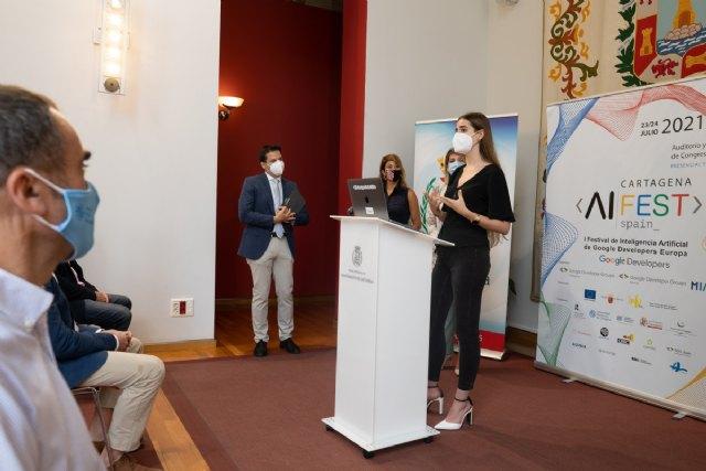 ISEN colabora en el primer Festival de Inteligencia Artificial de Google Developers en Europa, que se celebrará en Cartagena - 1, Foto 1