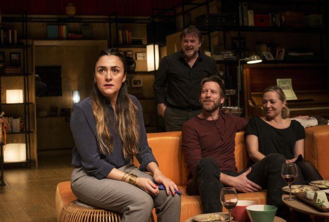 Espectáculo:    Los vecinos de arriba autor y direcotr: Cesc Gay. Reparto: Candela Peña, Pilar Castro, Xavi Mira y Andrew Tarbet - 1, Foto 1
