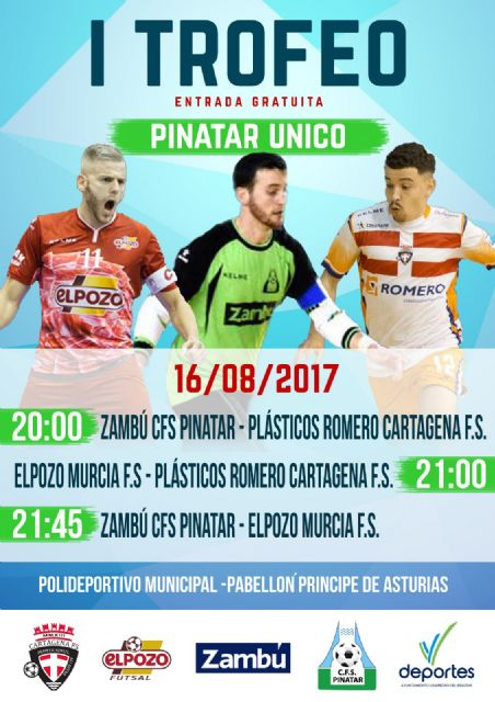 San Pedro del Pinatar acoge el I Trofeo Pinatar Único - 2, Foto 2