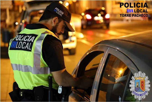 La Policía Local de Torre Pacheco se suma a la campaña de la DGT sobre vigilancia y control de alcoholemia y drogas - 1, Foto 1