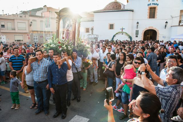 Fiestas en honor a la Virgen del Cisne de la comunidad ecuatoriana