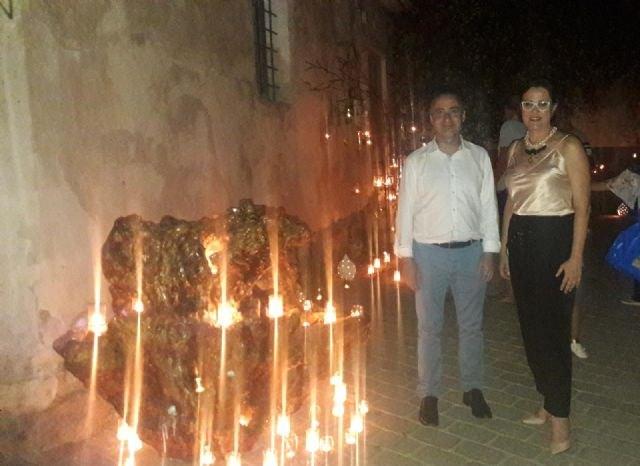 Isabel Franco pedirá esta noche al árbol de los deseos de Aledo que la juventud vuelva a las calles del municipio - 2, Foto 2