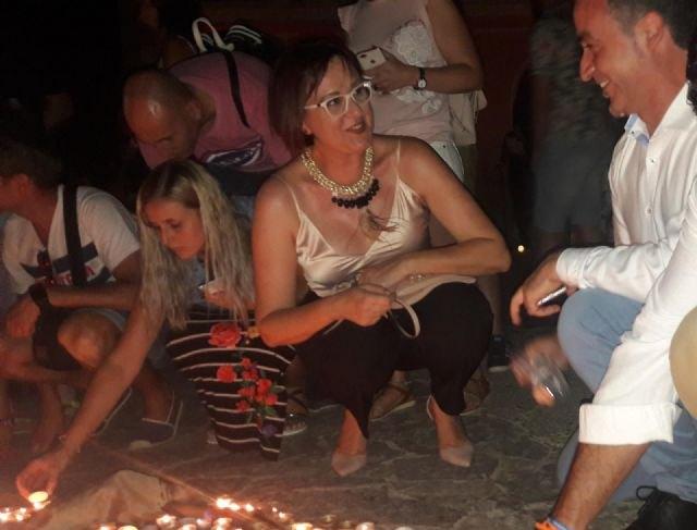 Isabel Franco pedirá esta noche al árbol de los deseos de Aledo que la juventud vuelva a las calles del municipio - 3, Foto 3