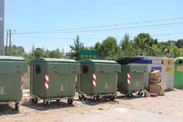 They urge to make proper use of the containers in the areas of the Orchards and districts in summer