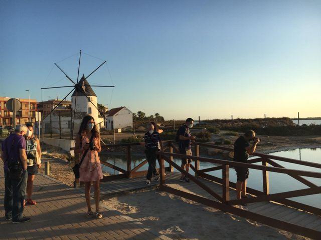 Los talleres de fotografía permiten a sus participantes descubrir los secretos del amanecer y anochecer en el Mar Menor - 1, Foto 1