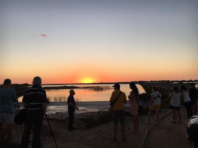 Los talleres de fotografía permiten a sus participantes descubrir los secretos del amanecer y anochecer en el Mar Menor - 2, Foto 2
