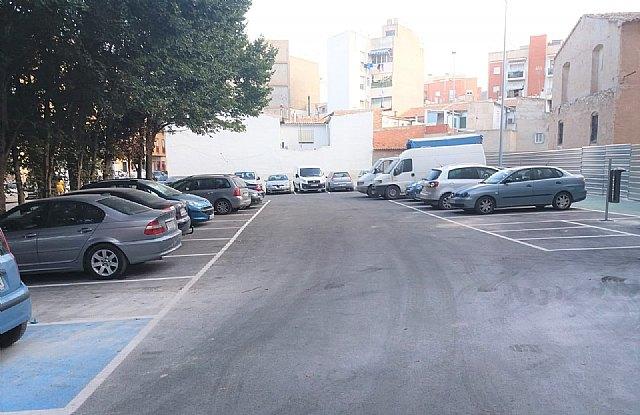 Saorín comprueba que la obra del aparcamiento del Molino de Capdevila en breve será recepcionada por el Ayuntamiento - 1, Foto 1