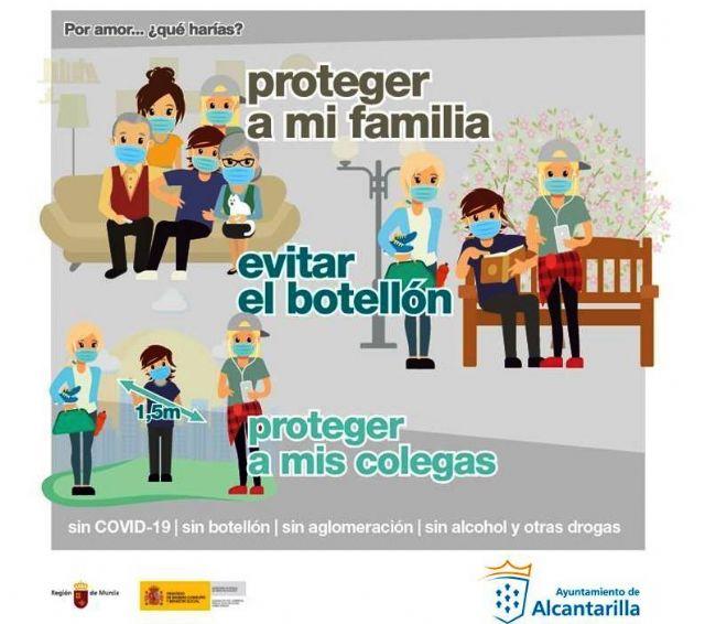 El Ayuntamiento de Alcantarilla se une a la campaña Por amor ¿qué harías?... - 1, Foto 1