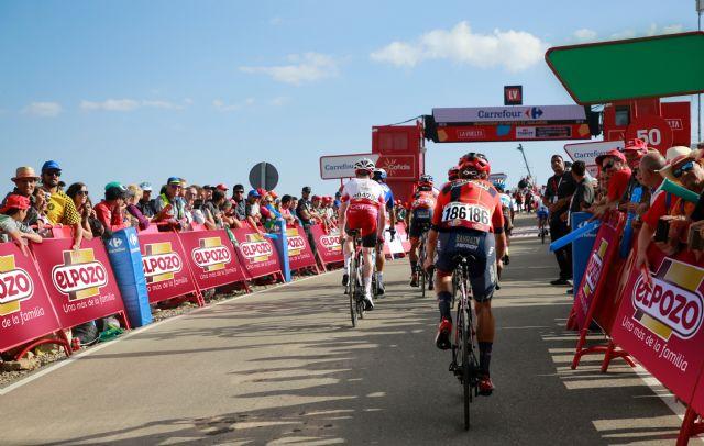 Imagen de archivo del patrocinio de ELPOZO en La Vuelta, Foto 1