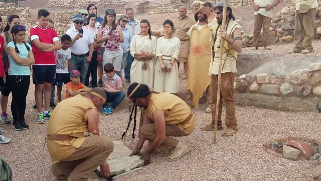 """On 1 October will take place the day II dramatized visits to the archaeological site """"La Bastida"""""""