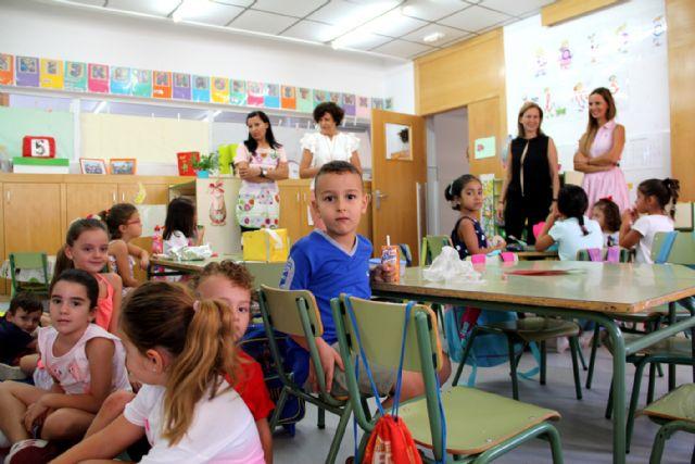 Los colegios de Puerto Lumbreras inician el nuevo curso escolar 2017/2018 - 3, Foto 3