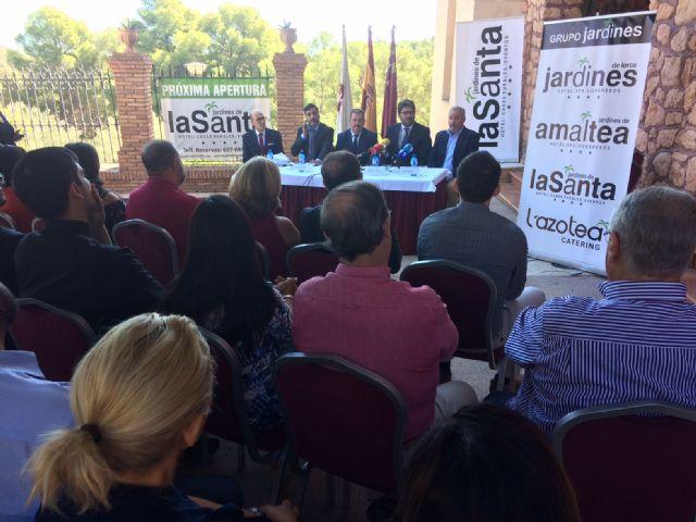 La mercantil Hoteles de Murcia, SA asume la gestión del complejo hotelero de La Santa para los próximos veinte años - 1, Foto 1