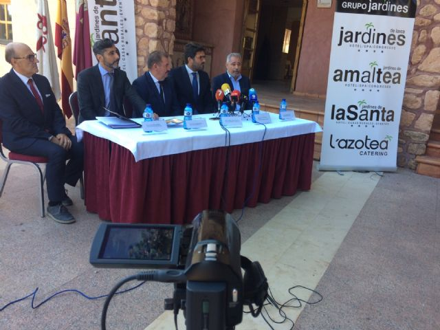 """The mercantile """"Hoteles de Murcia, SA"""" assumes the management of the hotel complex of La Santa for the next twenty years - 2"""
