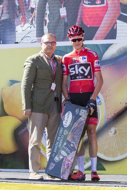ElPozo Alimentación regala jamones Legado Ibérico a los protagonistas de La Vuelta 2017, Foto 1