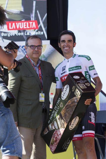 ElPozo Alimentación regala jamones Legado Ibérico a los protagonistas de La Vuelta 2017, Foto 3