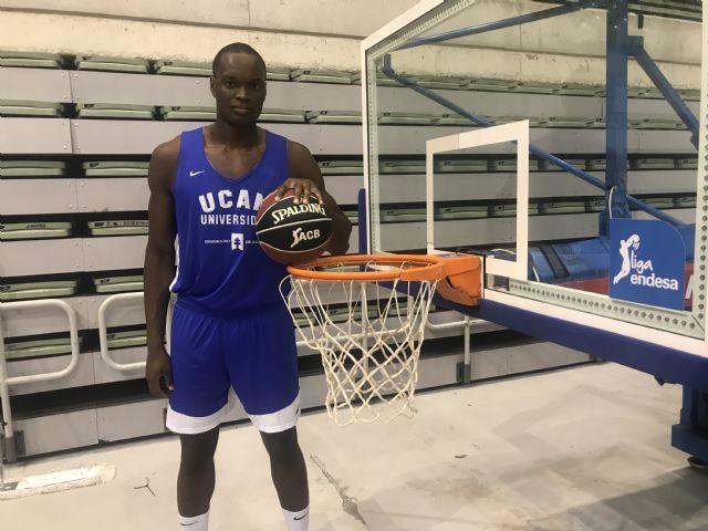 Kevin Tumba se incorpora a la pretemporada del UCAM Murcia CB - 1, Foto 1