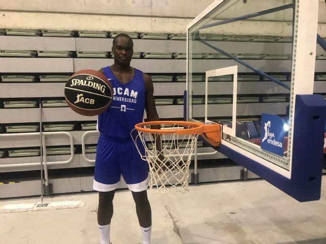 Kevin Tumba se incorpora a la pretemporada del UCAM Murcia CB - 2, Foto 2