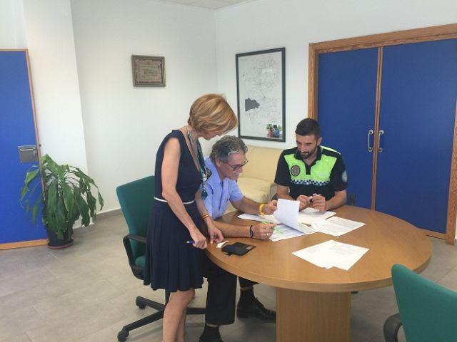 El dispositivo de seguridad para la Feria y Fiestas de Lorca logra detener al presunto autor de un robo en el popular Merendero Padilla - 1, Foto 1