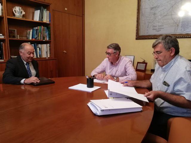 Mario Urrea se reúne con la Comunidad de Regantes 'Arco Sur Mar Menor', Foto 1