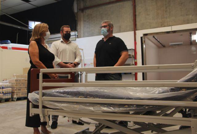 El Ayuntamiento subvenciona la ampliación de nuevo material del banco ortoprotésico de Cruz Roja - 1, Foto 1
