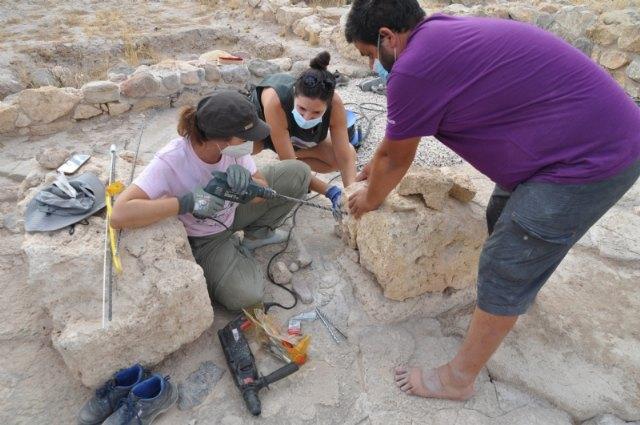 Finalizan los trabajos de mantenimiento y restauración en el yacimiento arqueológico de Las Cabezuelas - 5, Foto 5