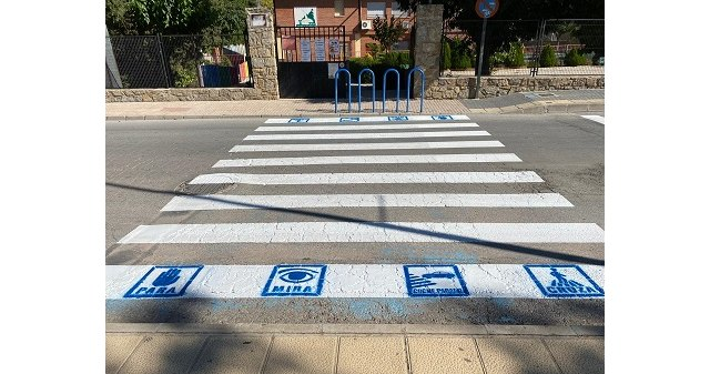 Cehegín adapta pasos de peatones para niños con trastorno del espectro autista - 1, Foto 1