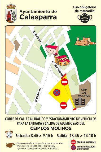 El Ayuntamiento de Calasparra lanza la campaña VUELVE AL COLE ANDANDO - 1, Foto 1