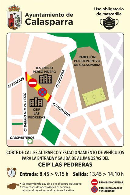El Ayuntamiento de Calasparra lanza la campaña VUELVE AL COLE ANDANDO - 2, Foto 2